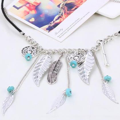 women short necklace DIY personaliz..