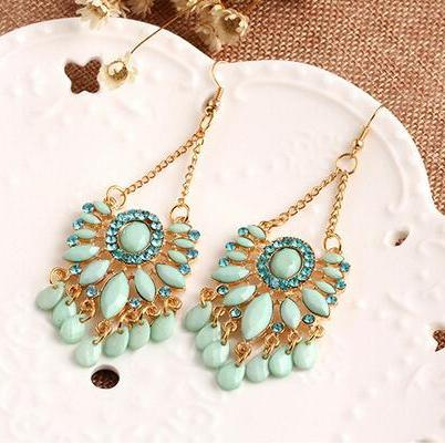 Fashion Women Boho earrings, Bohemi..