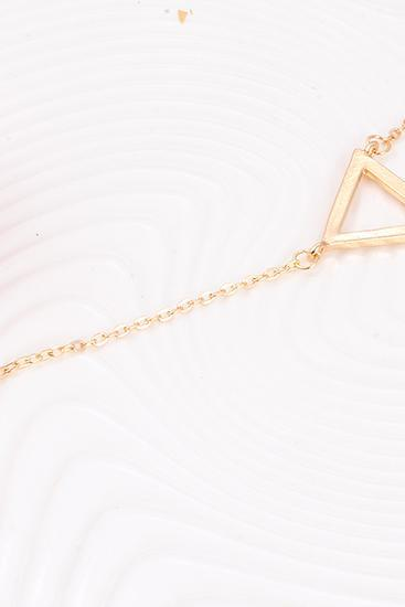 Geometric Y Chain Necklace