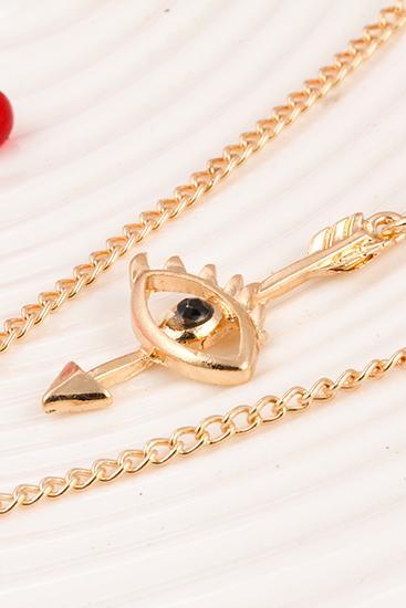 women fashion necklace DIY three layers personalized necklace 31H12