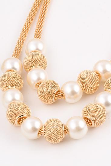 women short luxury pearls necklace fashionable party necklace wedding necklace 32B26