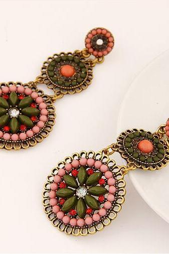 Fashion Women Boho earrings, Bohemia retro Earrings jewelry 12b2