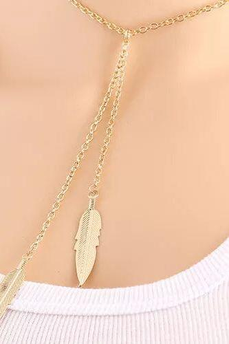 Women fashion necklace New Hot Fashion Gold Plated Fatima Hand 3 Layer Chain Bar Necklace Beads and Long Strip Pendant Necklaces Jewelry