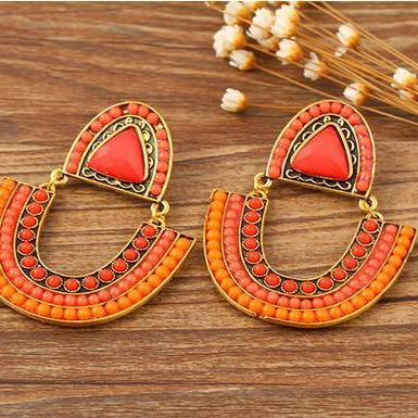 Fashion Women Boho earrings, Bohemia retro Earrings 11K30
