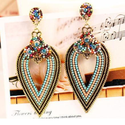 Fashion Women Boho earrings, Bohemia retro Earrings 11K50