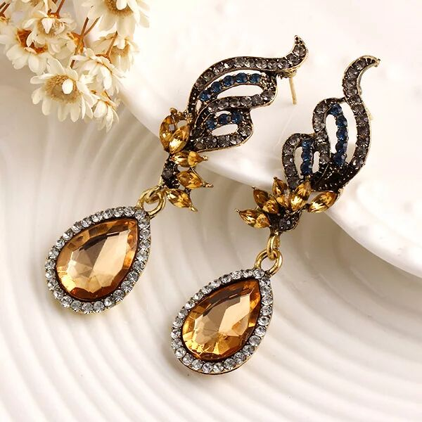 Fashion Women Boho earrings, Bohemia retro Earrings diamond jewelry 12b21